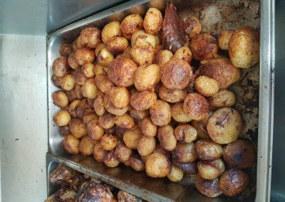 Magalies Spit Braai Roasted Baby Potatoes